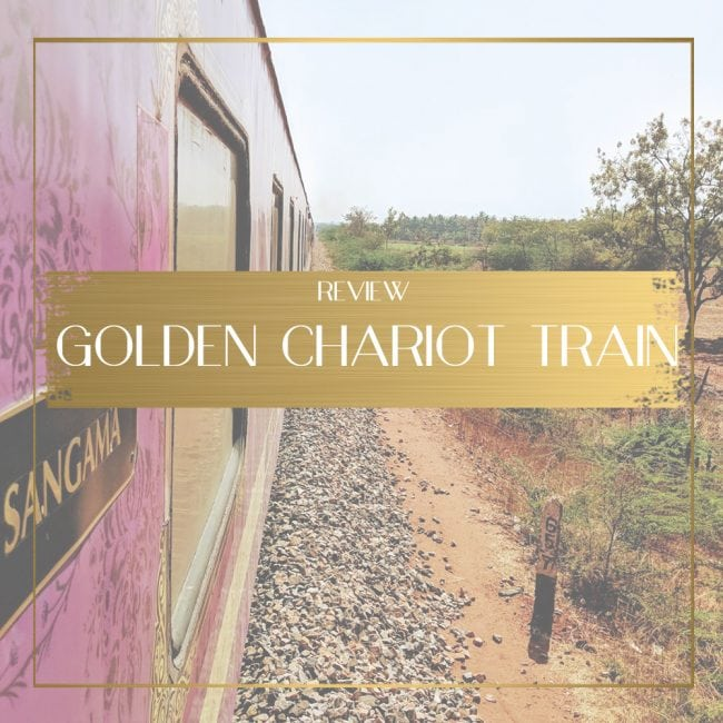 Golden Chariot Train Review Feature