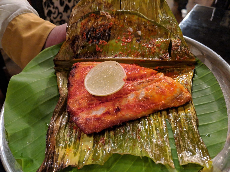 """""""Baked fish at Karavalli Restaurant"""""""