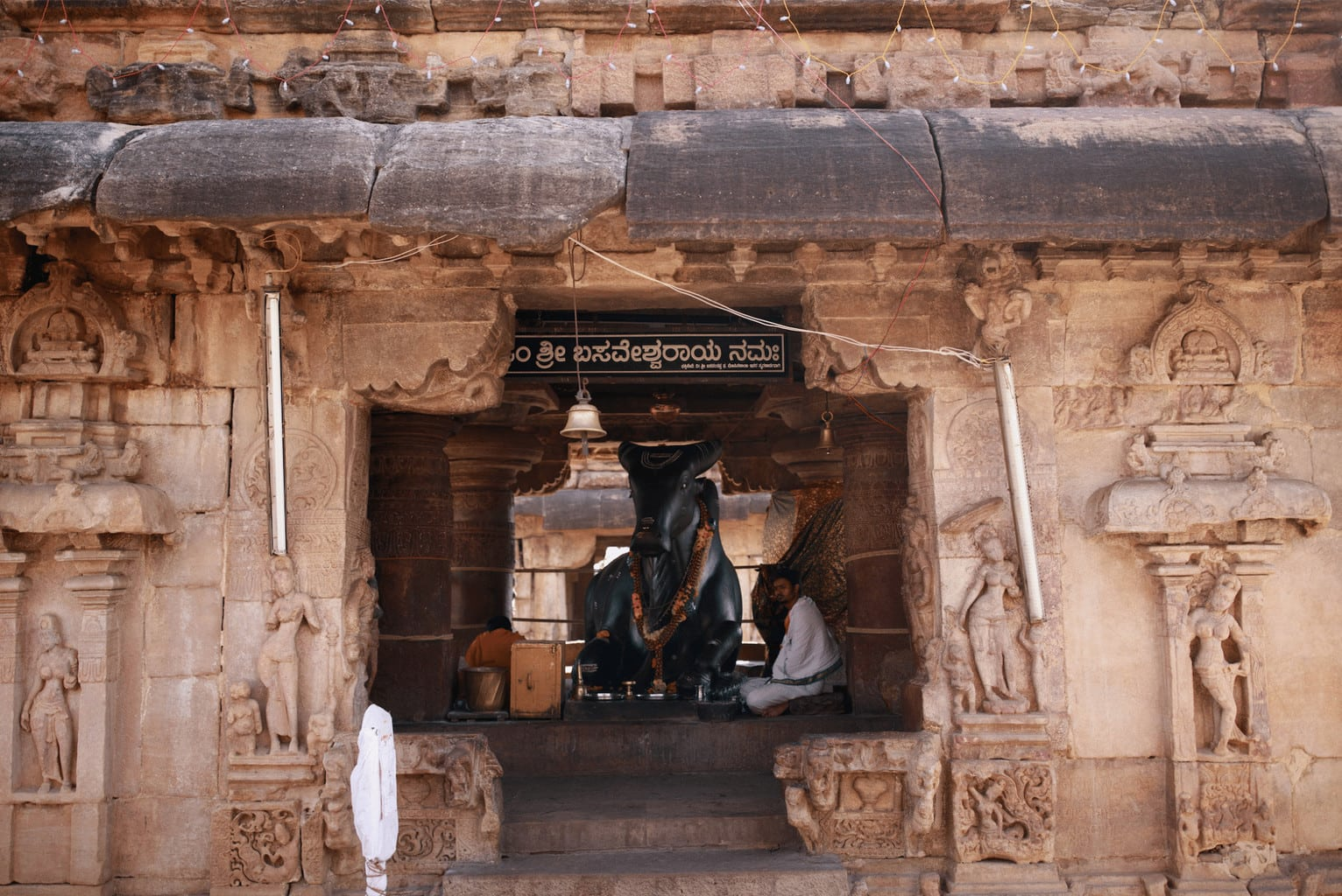 Nandi Shrine in Pattadakal. Photo by Jinson Abraham (@JinsonAbraham) for the Ministry of Tourism and Government of India