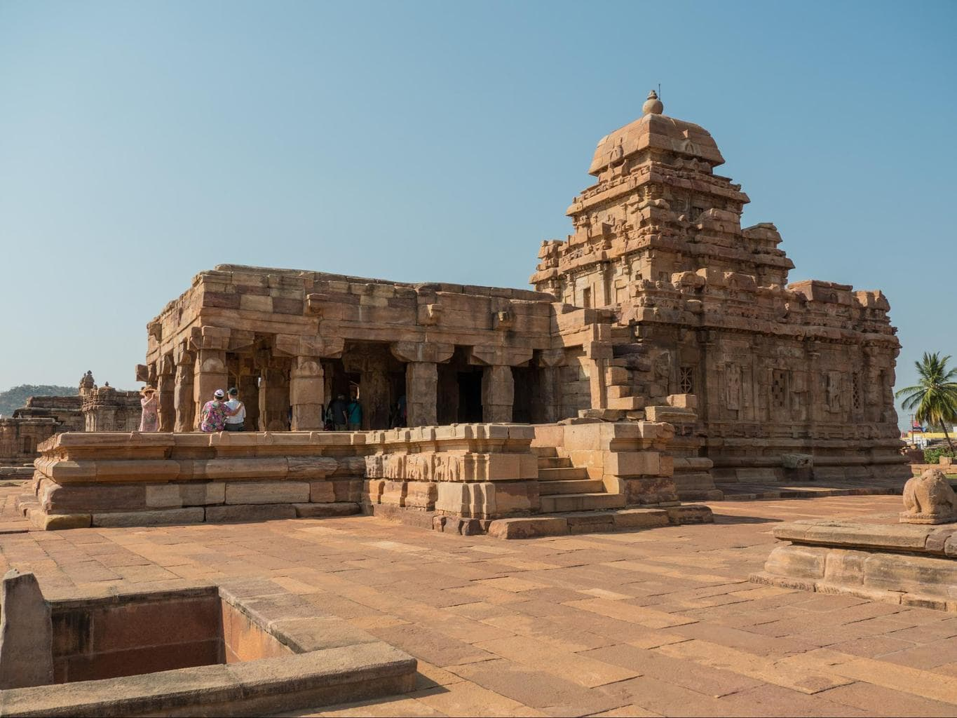 Sangameshwara Temple in Pattadakal