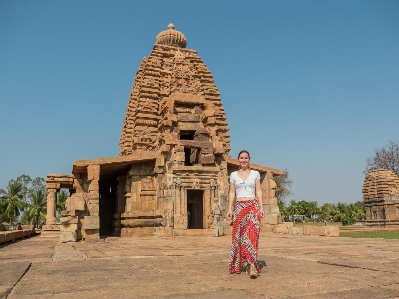 Shivalinga hall in Galaganatha temple in Pattadakal