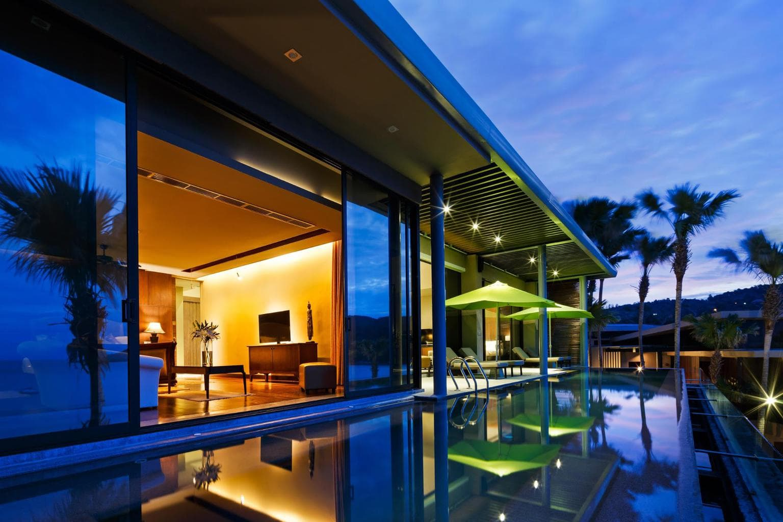 Spacious rooms for families at best Phuket luxury villa
