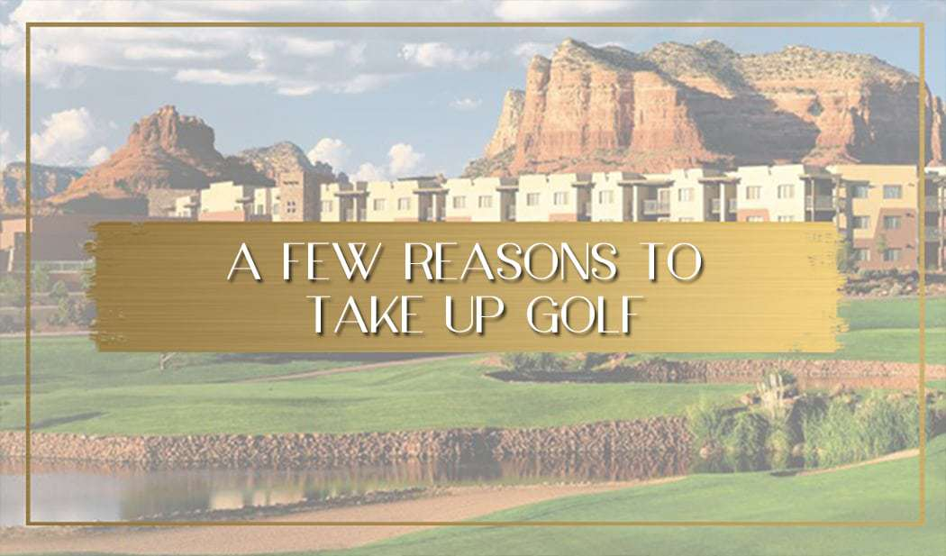 Take up golf main