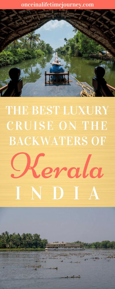 The Best Luxury Cruise on the Backwaters of Kerala India