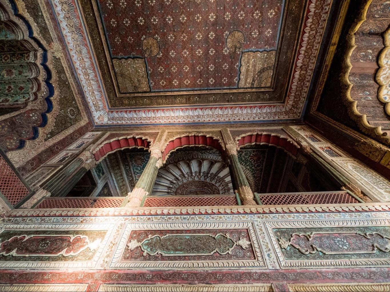 The ceiling of Daria Daulat