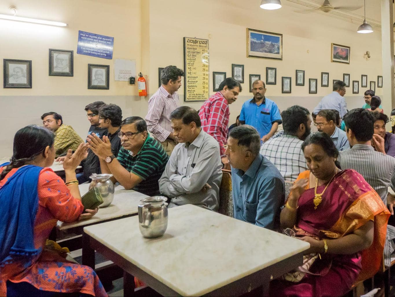 Vidyarthi Bhavan in Bangalore