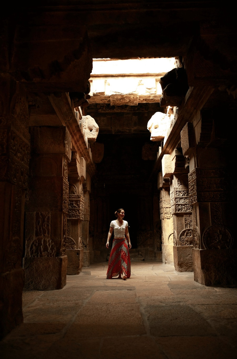 Virupaksha temple in Pattadakal. Photo by Jinson Abraham (@JinsonAbraham) for the Ministry of Tourism and Government of India