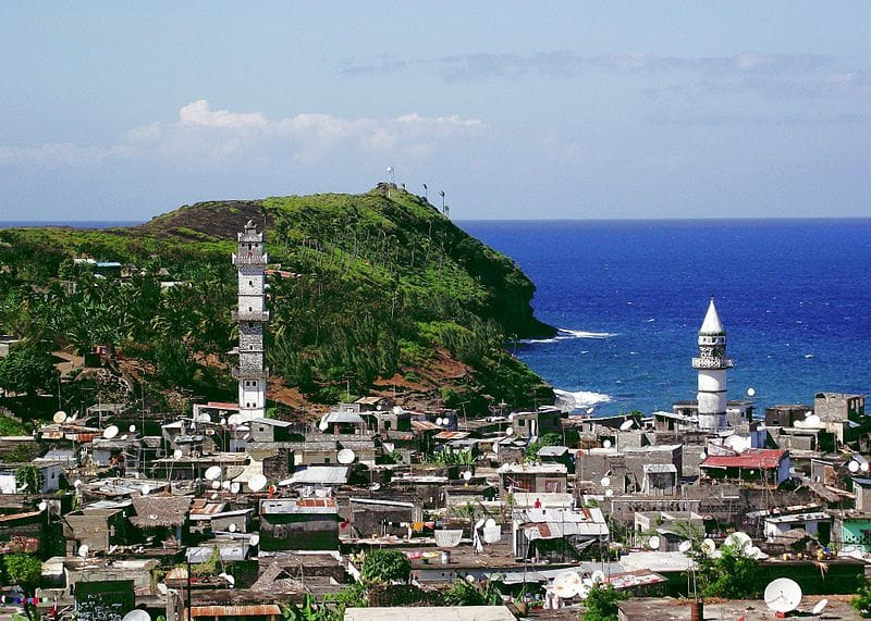 Anjouan in the Comoros