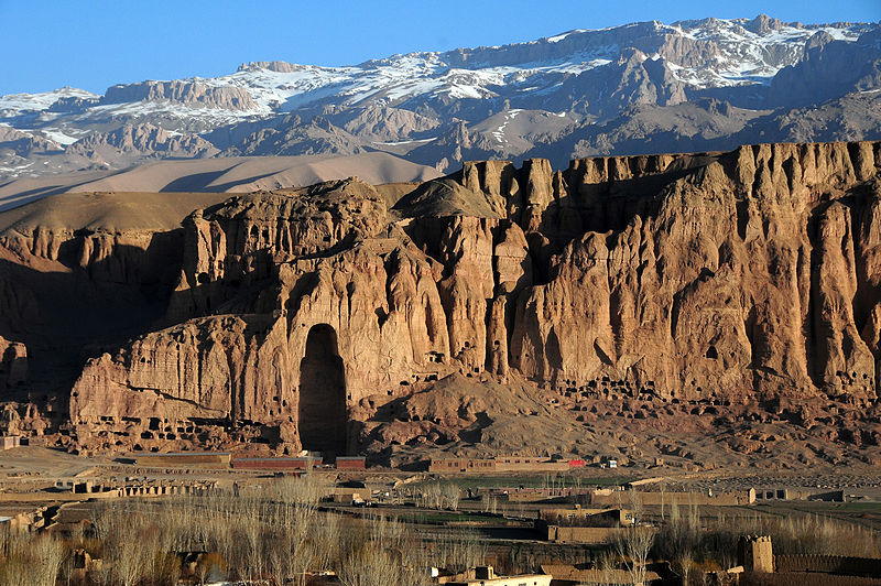Bamyan Valley in Afghanistan