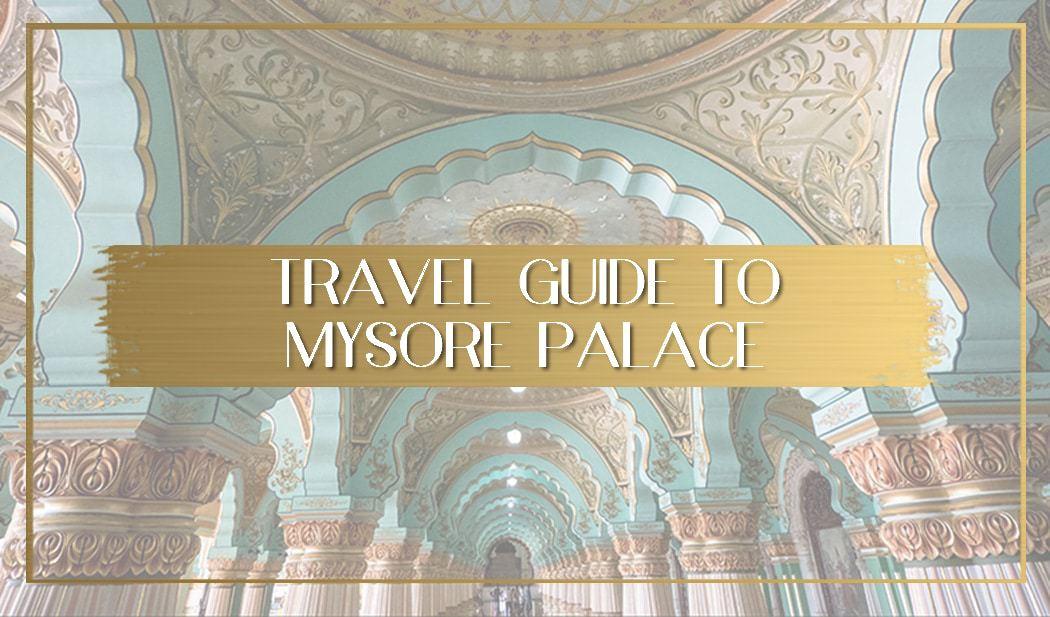 Mysore palace main