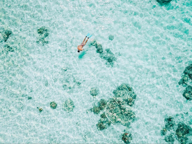 Snorkeling at Bawah Island