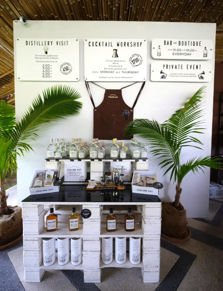 Souvenirs to get after your Chalong Bay Distillery tour