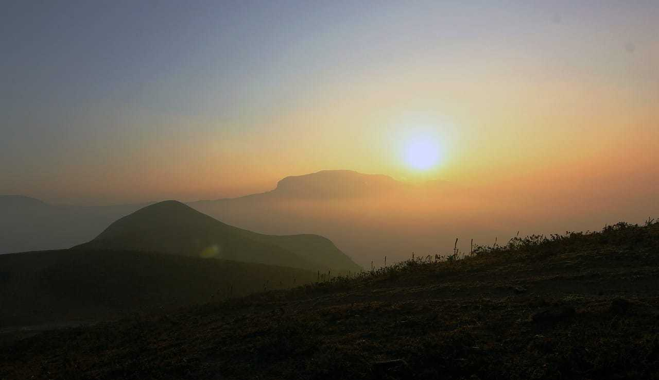 Sunset at Coorg or Kodagu