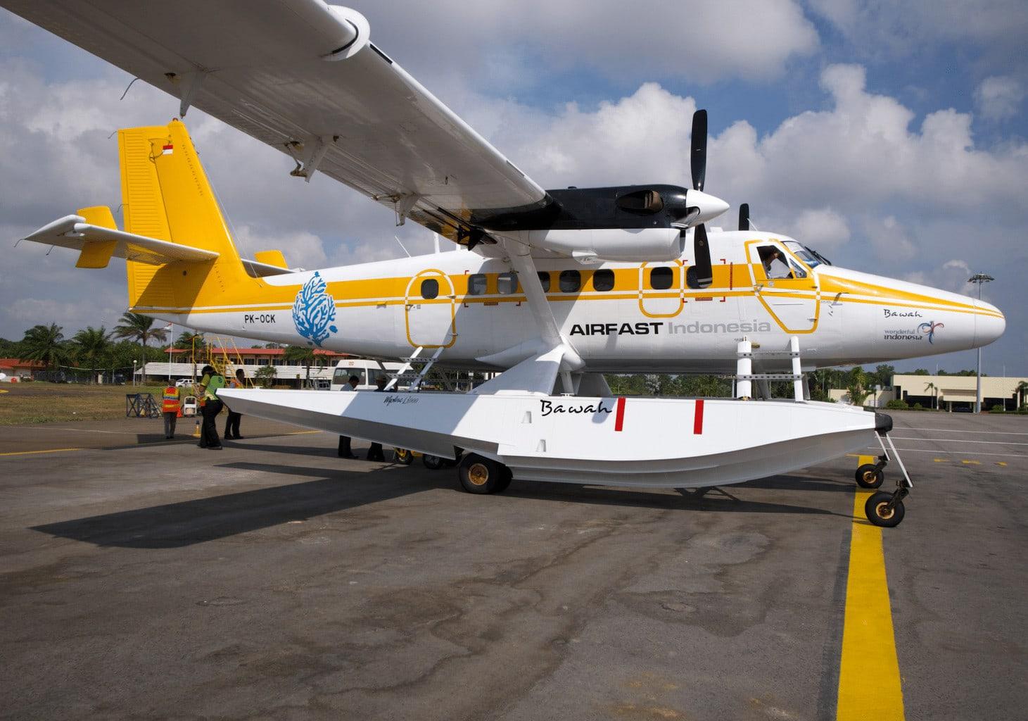 The EU Certified amphibious plane