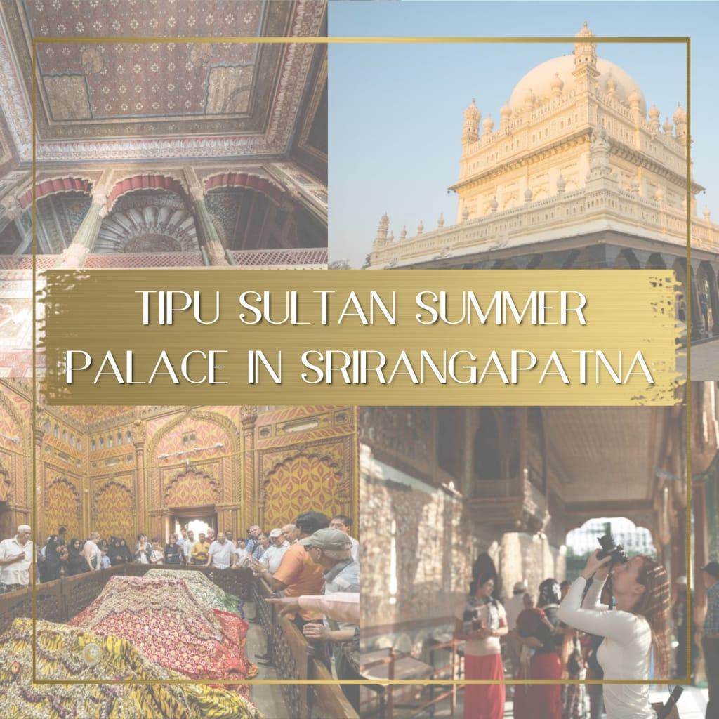 Tipu Sultan Summer Palace in Srirangapatna feature
