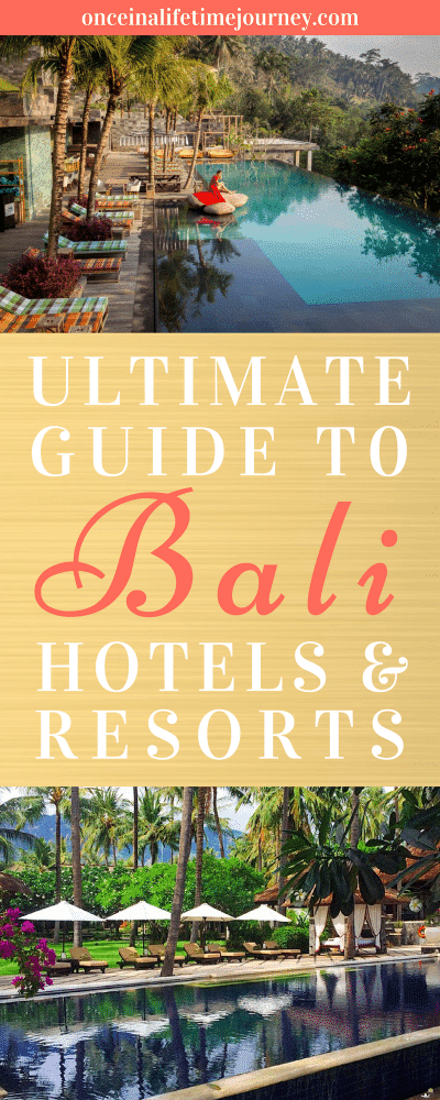 Ultimate Guide to Bali Hotels and Resorts