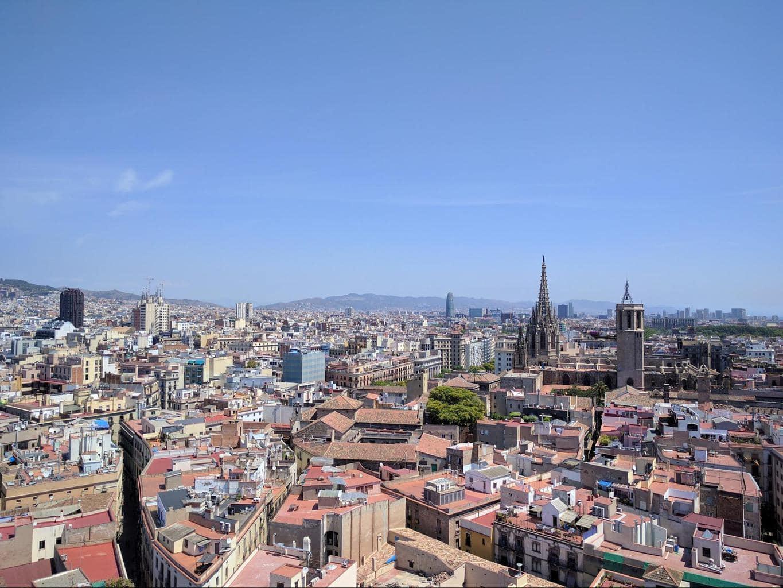 Views from l'Esglesia del Pi