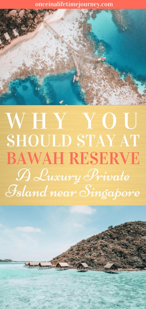 Why you Should Stay at Bawah Reserve