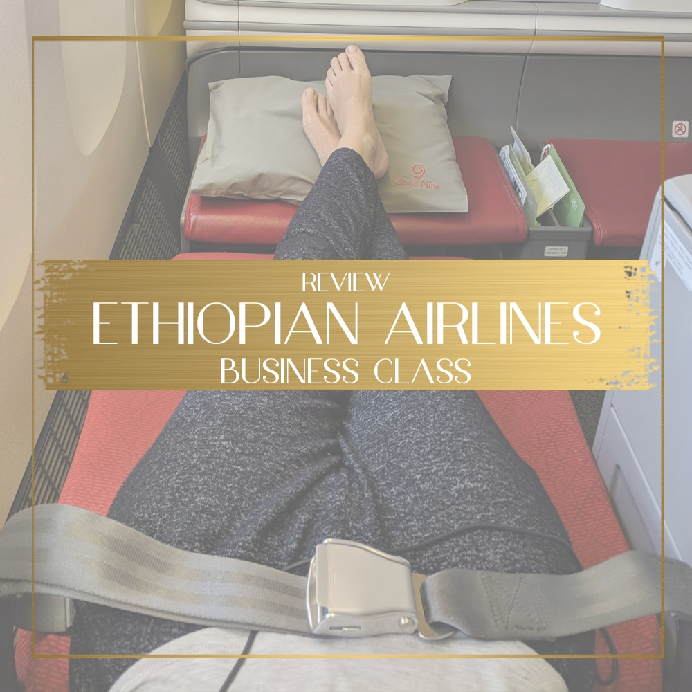 Africa Business Class: Ethiopian Airlines Business Class Review