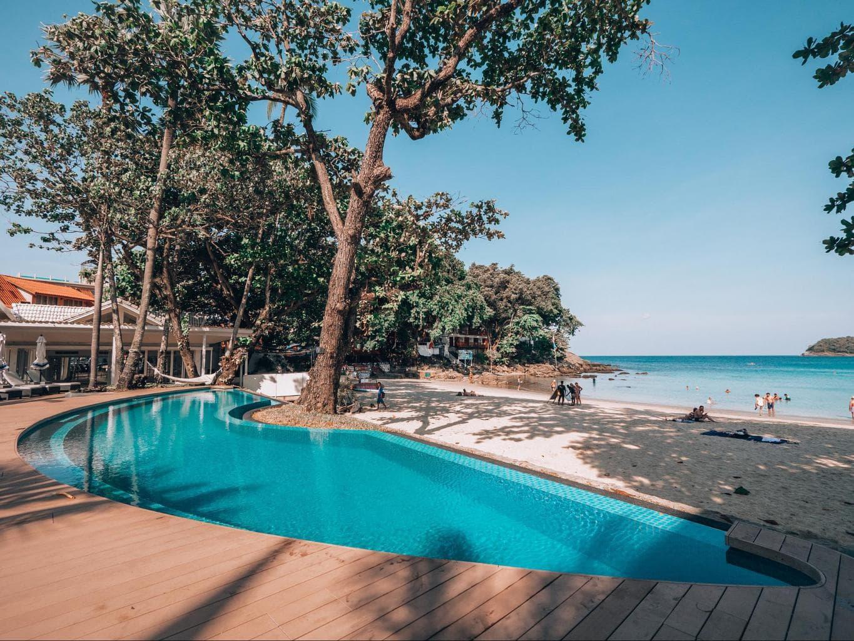 The pool at The Boathouse Phuket