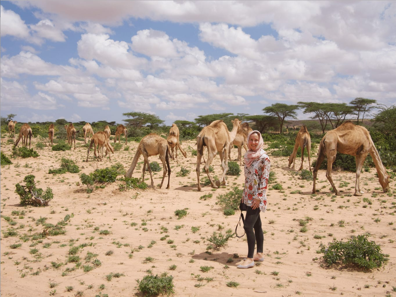 What I was wearing in Somaliland