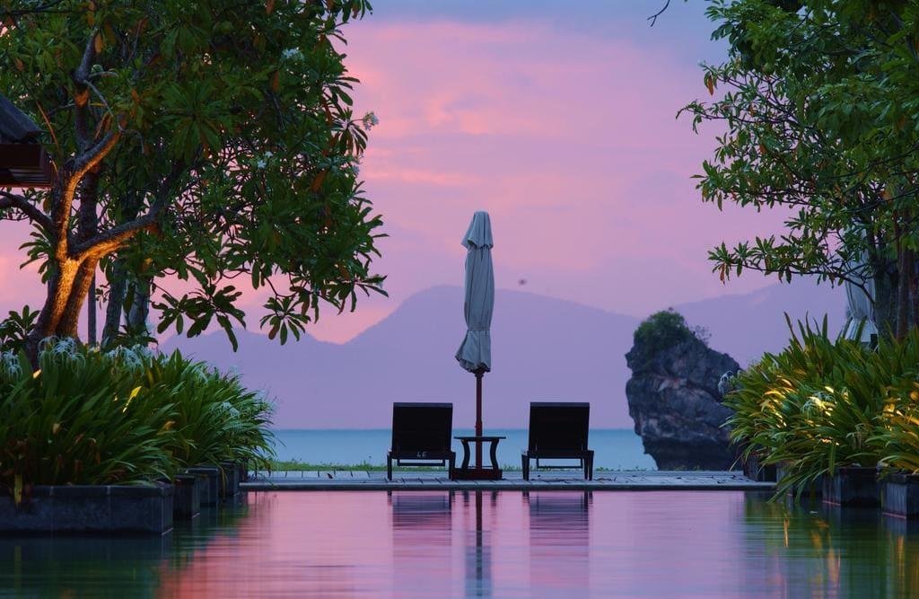 Tanjung Rhu Resort sunset