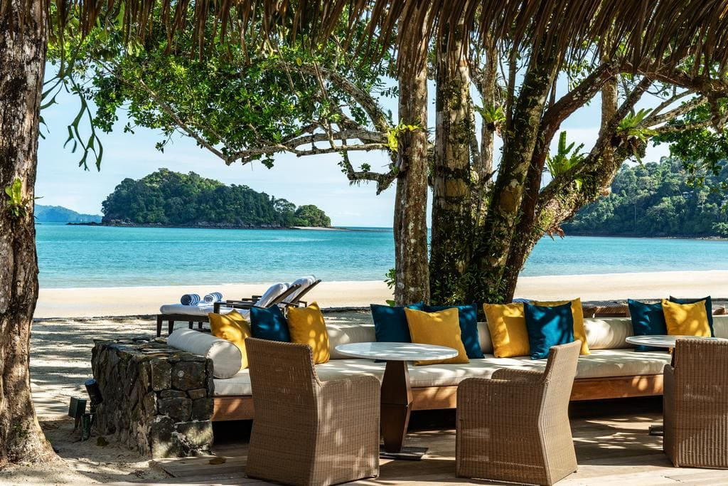 The Datai Langkawi on the beach
