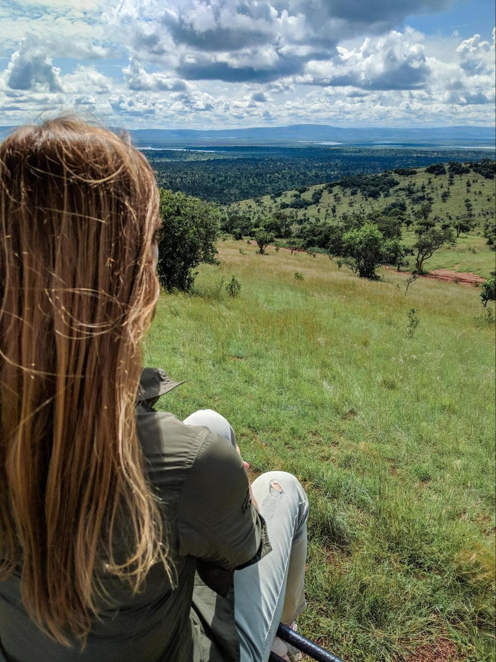 The landscapes in Akagera National Park