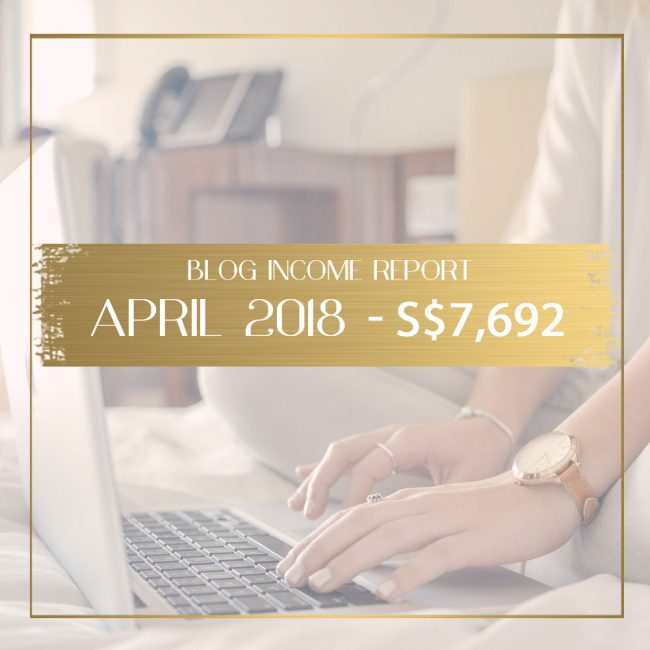 blog income report April 2018 feature