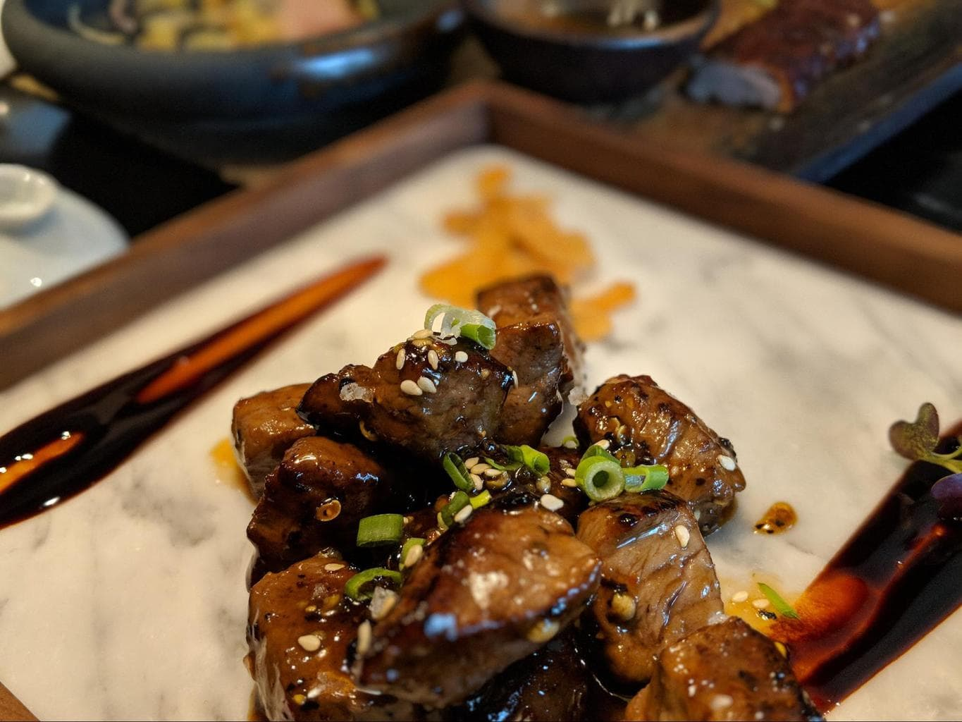 Melt in your mouth meat at the Yellow Pot