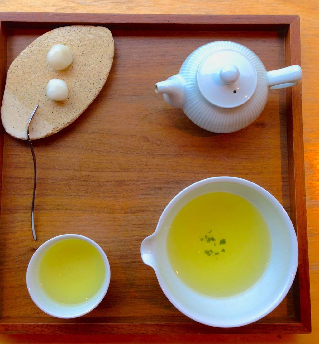 Osulloc Tea House in Myeongdong