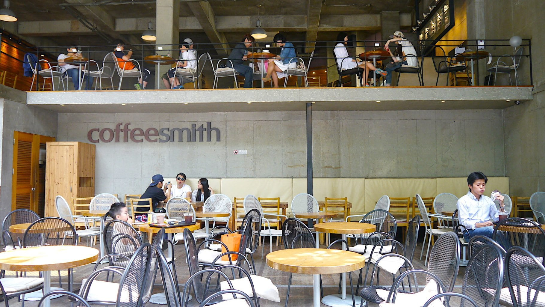 Trendy open air cafes abound in Garosugil