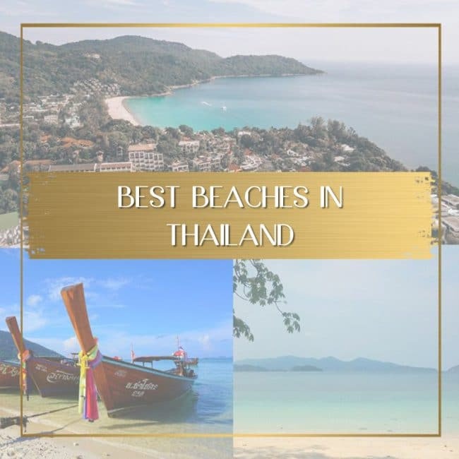 Best beaches in Thailand feature