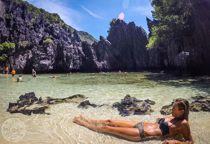 Best beaches in the Philippines - Secret beach