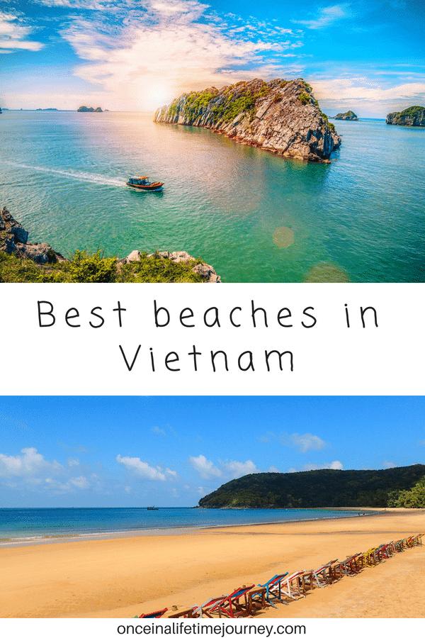 Best beaches in the Vietnam