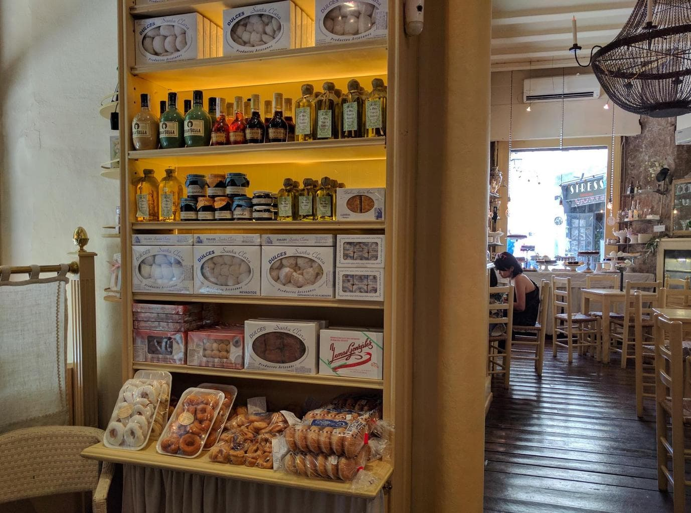 Caelum celestial sweets and liquors in Barcelona