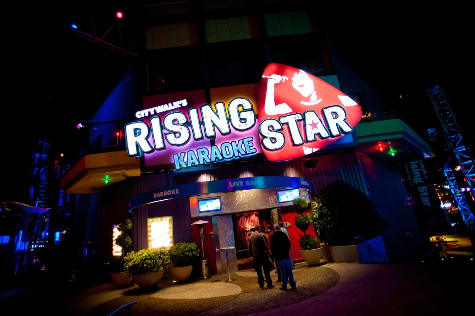 CityWalk's Rising Star entrance