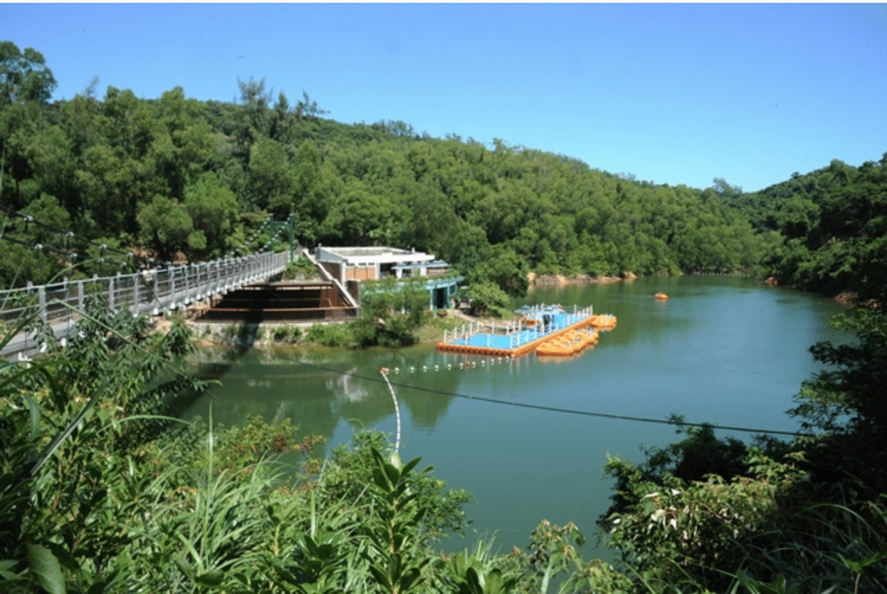 If you have time on your day trip to Macau, visit Hac Sa Reservoir Country Park