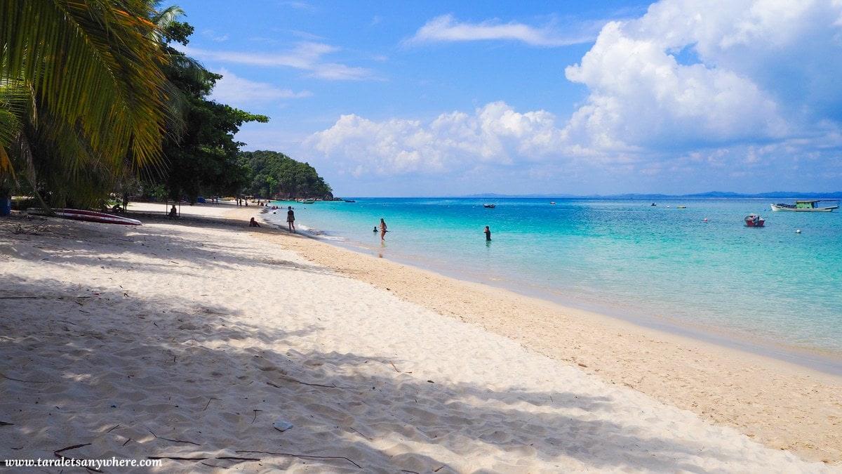 Kapas Island beach in Malaysia
