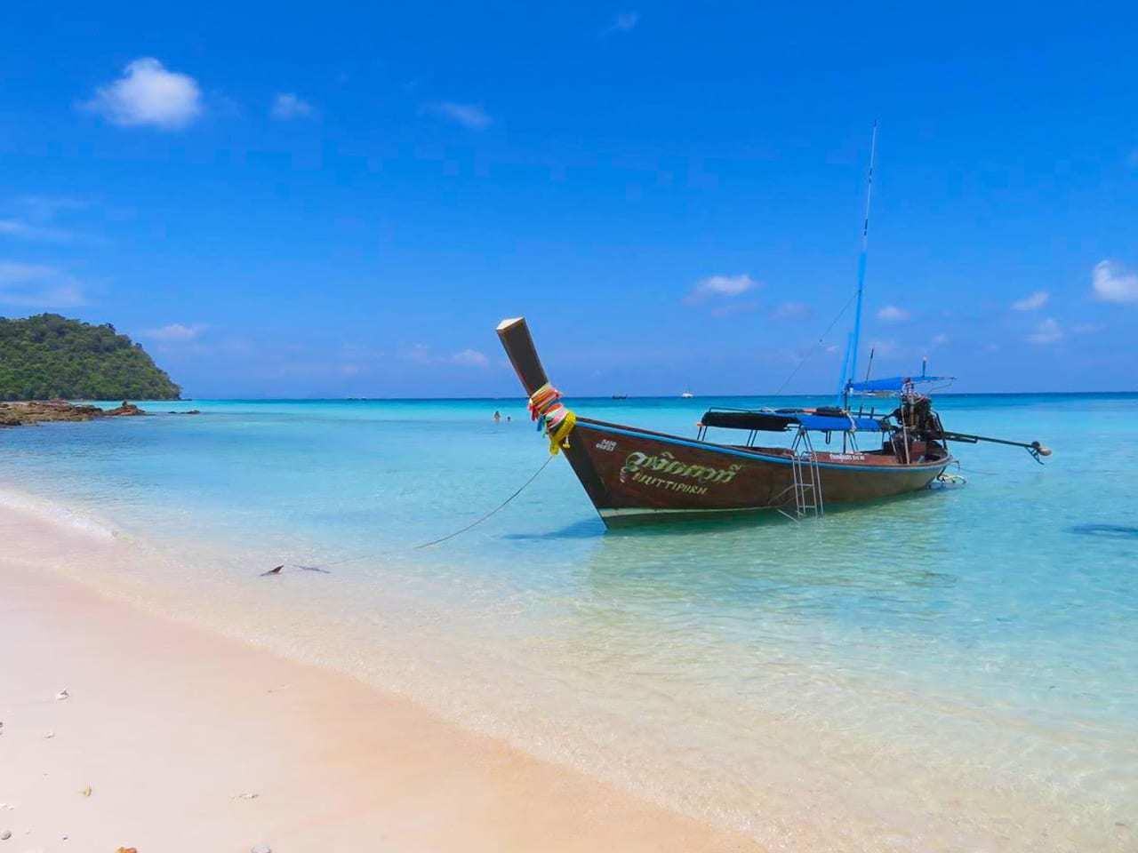 Koh Rok in Thailand