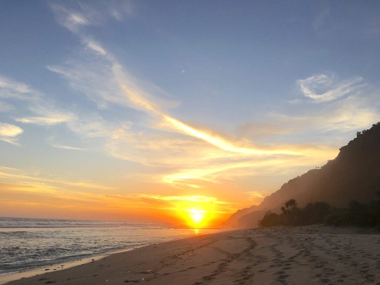 Sunset on Nyang Nyang