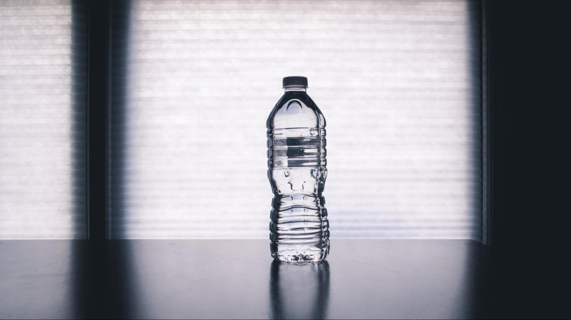 Take your own water bottle on the flight