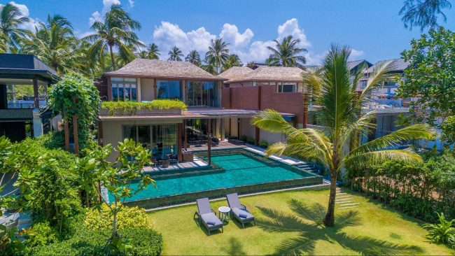 The 5-bedroom beach villa at Baba Beach Club Phuket