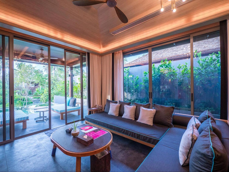 Two bedroom tropical villas