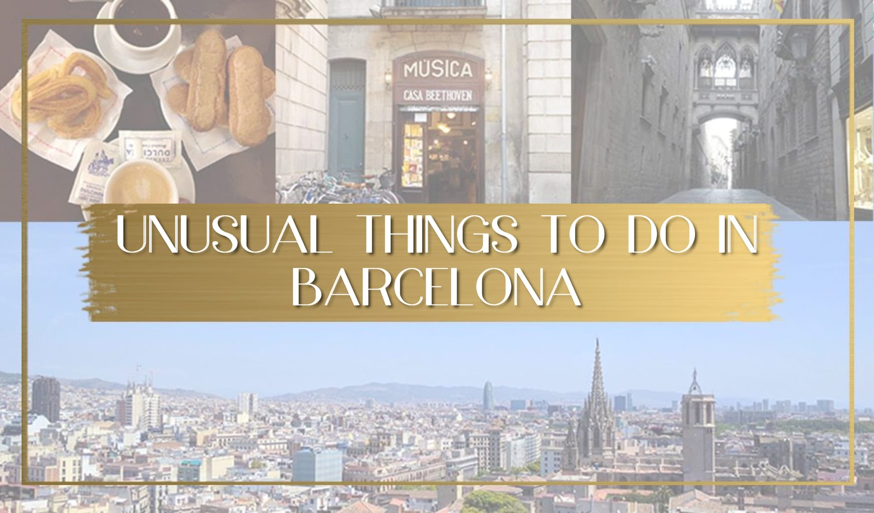 Unusual things to do in Barcelona main