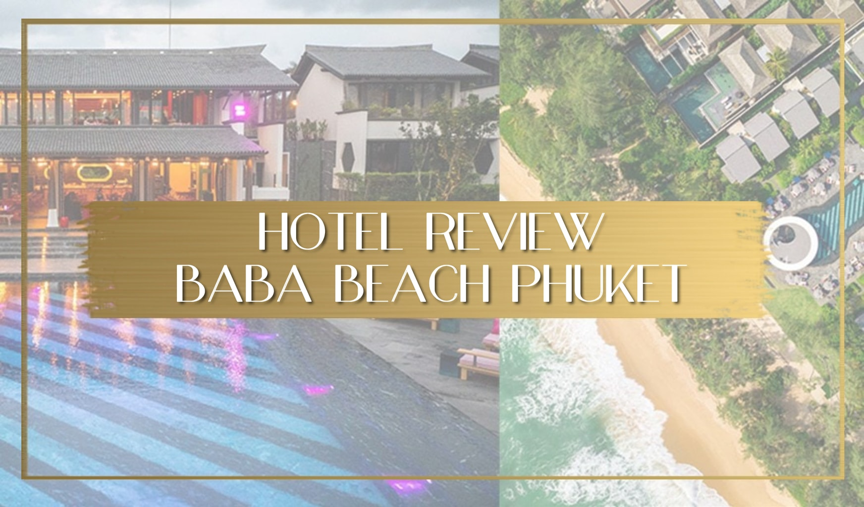 Baba Beach Resort Phuket review main