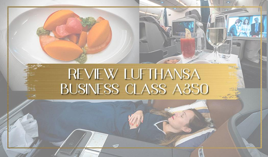 Review Lufthansa Business Class A350 main