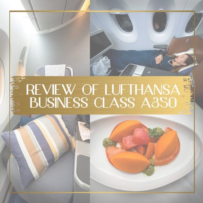 Review of Lufthansa Business Class feature