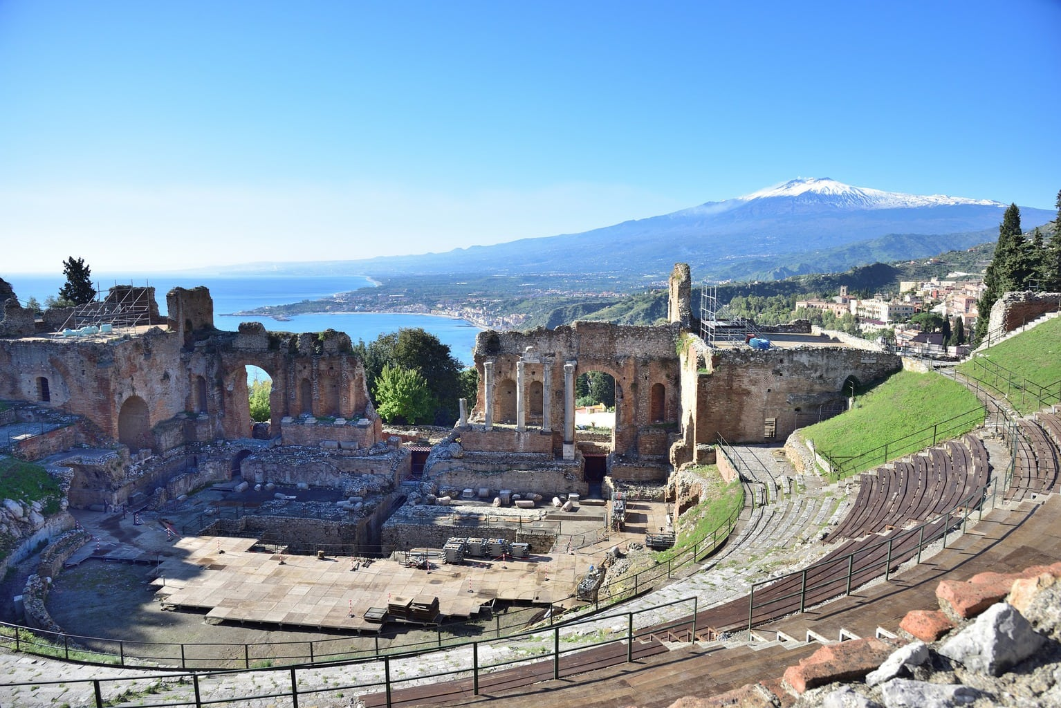 Well known UNESCO-listed sites in Sicily