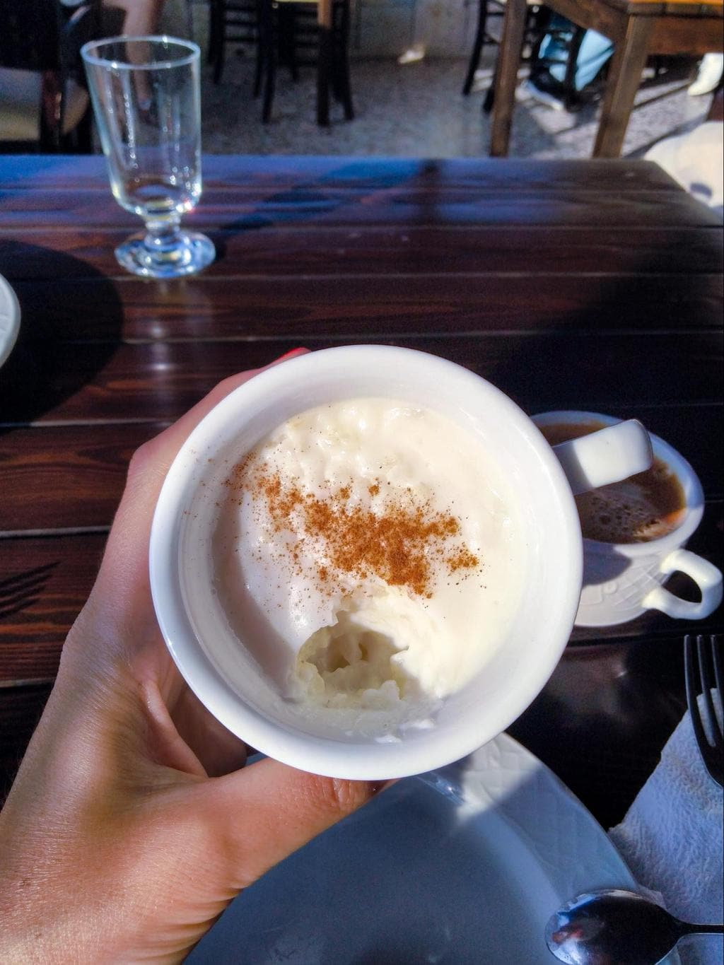 Albanian rice pudding